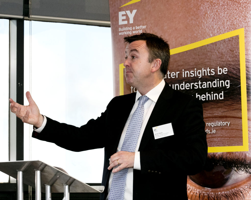 Brian Hayes MEP at EY in Dublin
