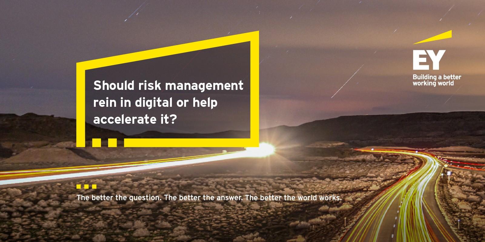 EY / IIF Global Bank Risk Management Survey 2018