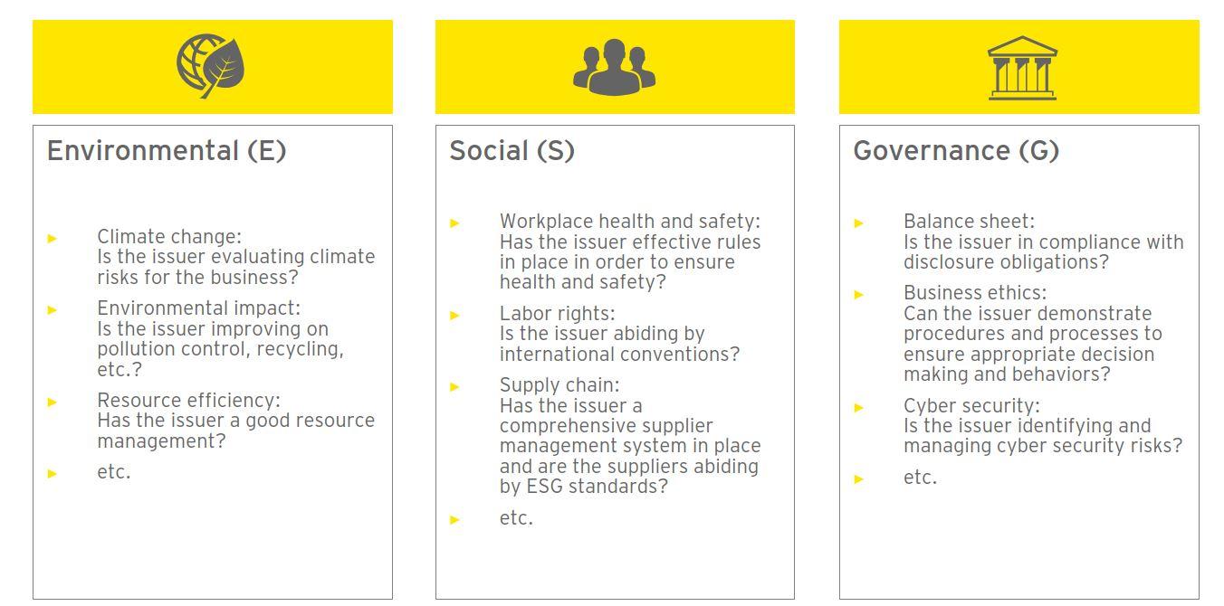 ESG Investing Criteria