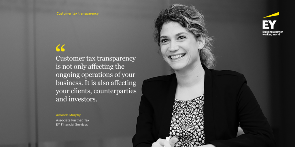 Customer Tax Transparency